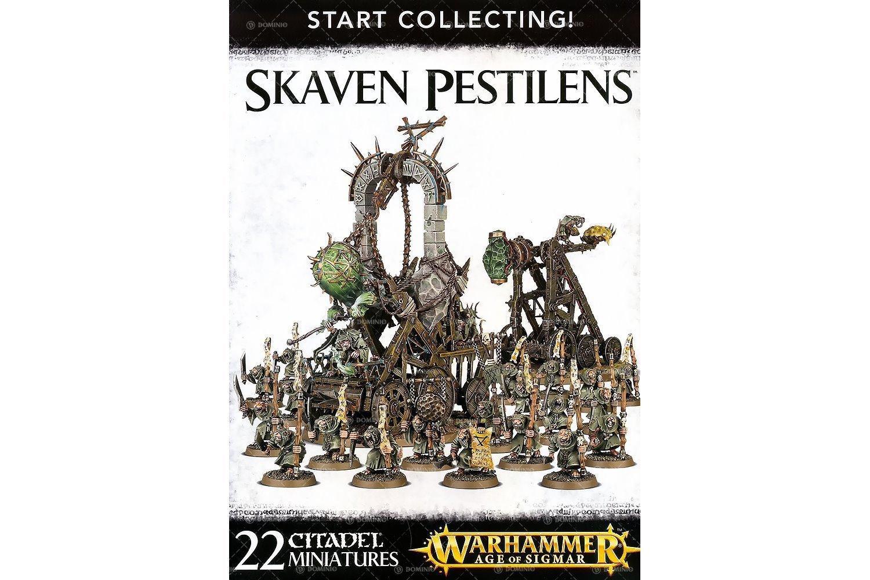 品質のいい [ウォー Skaven ハンマー]Warhammer: Age Age of of Sigmar Warhammer Age of Sigmar Start Collecting Skaven Pestilens 70-90 [並行輸入品] B01CUPX5YA, キタミシ:03e95587 --- arianechie.dominiotemporario.com