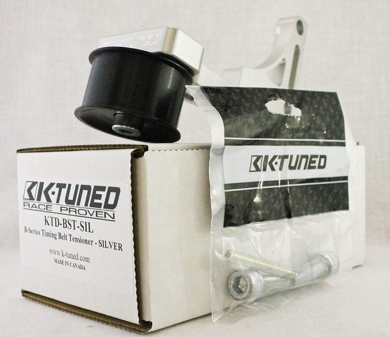 Amazon com: K-Tuned B-Series Belt Tensioner Silver Honda