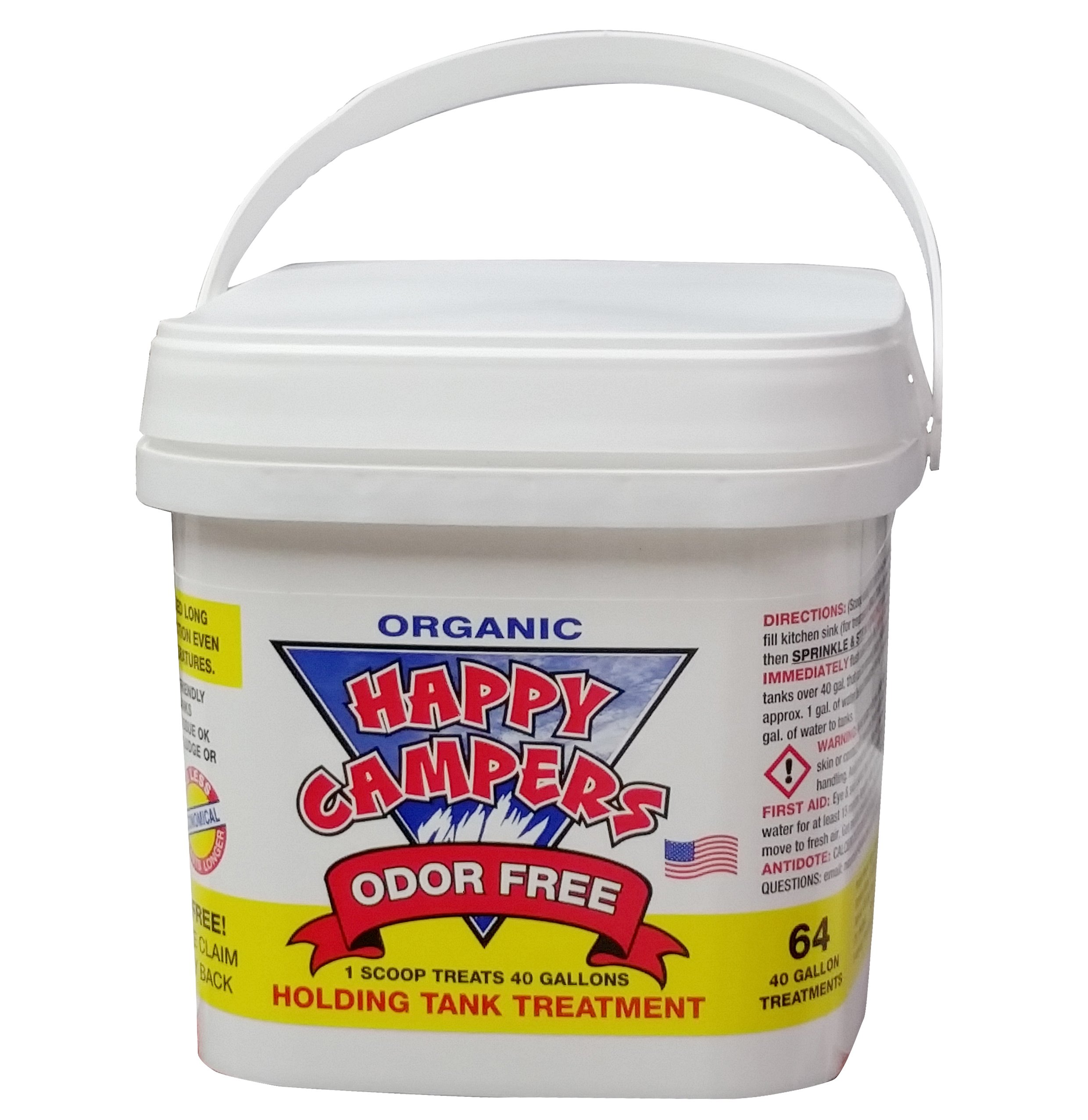 Happy Campers Organic RV Holding Tank Treatment - 64 treatments by Happy Campers