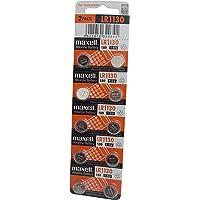 Maxell LR1130 - Pila alcalina botón de 10 unidades de ampolla