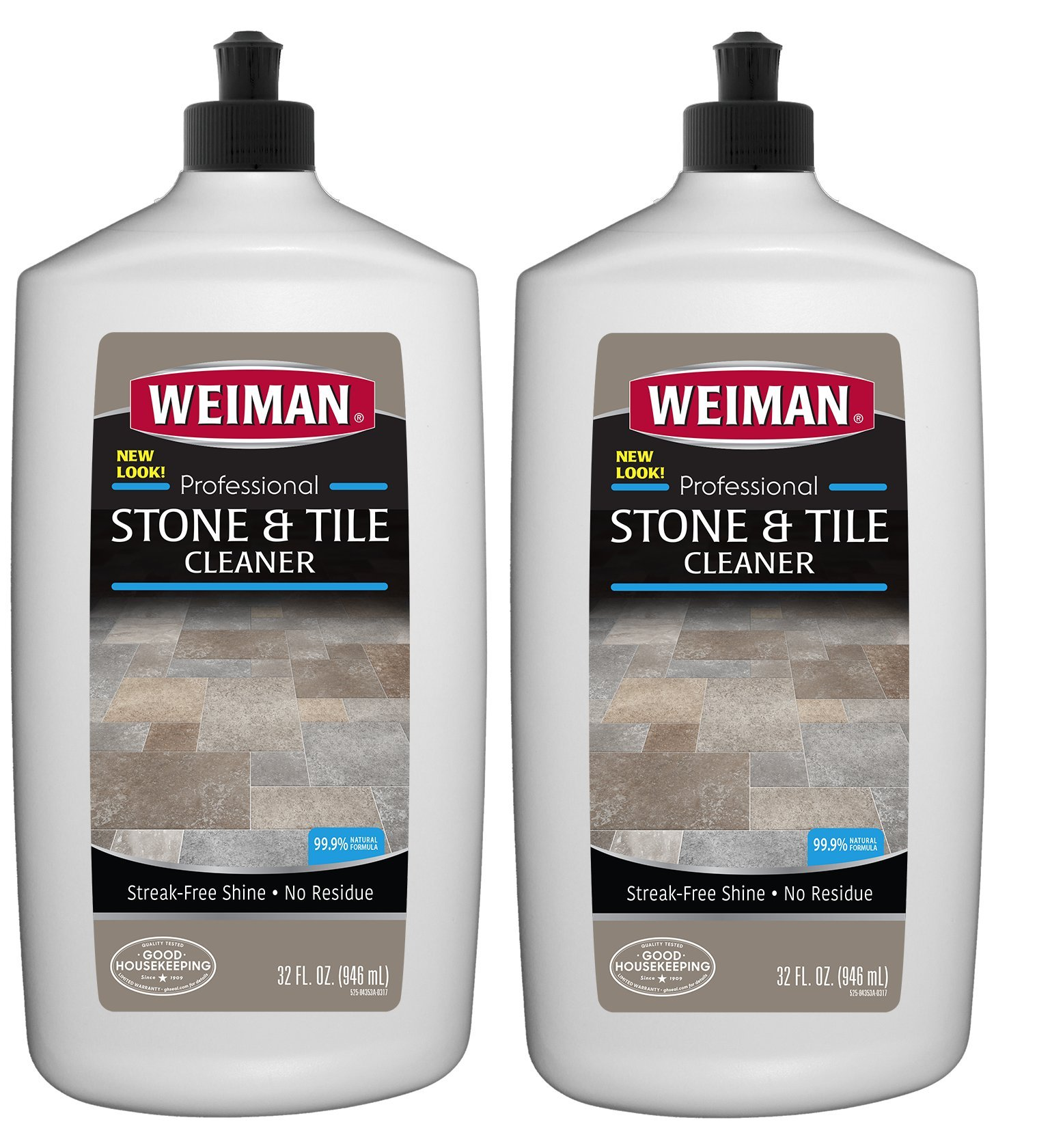 Weiman Stone Tile and Laminate Cleaner 32 Ounce - Professional Tile Marble Granite Limestone Slate Terra Cotta Terrazzo and More Stone Floor Surface Cleaner (2)