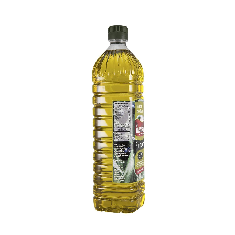 La masía - Aceite de oliva sumum - 1 L - [pack de 5]: Amazon.es: Alimentación y bebidas
