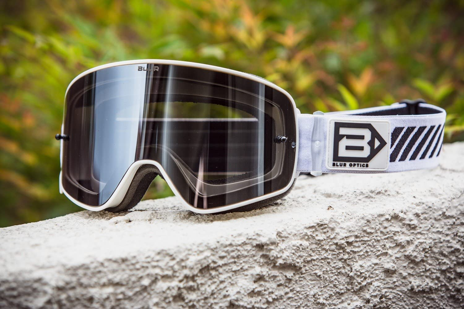 Black Blur B-50 Force Goggle with Magnetic Silver Mirror lens