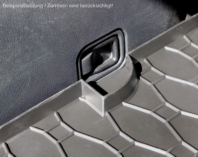 AD Tuning RI805017 Gummi Kofferraumwanne mit Motiv Laderaummatte