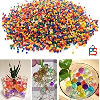 P S Retail Crystal Soil Water Beads (Multicolour) - Pack of 10000 Pieces (Approximately)