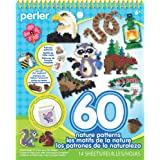 Perler Bead Pattern Pad, Animals and Nature Crafts, 14 pgs