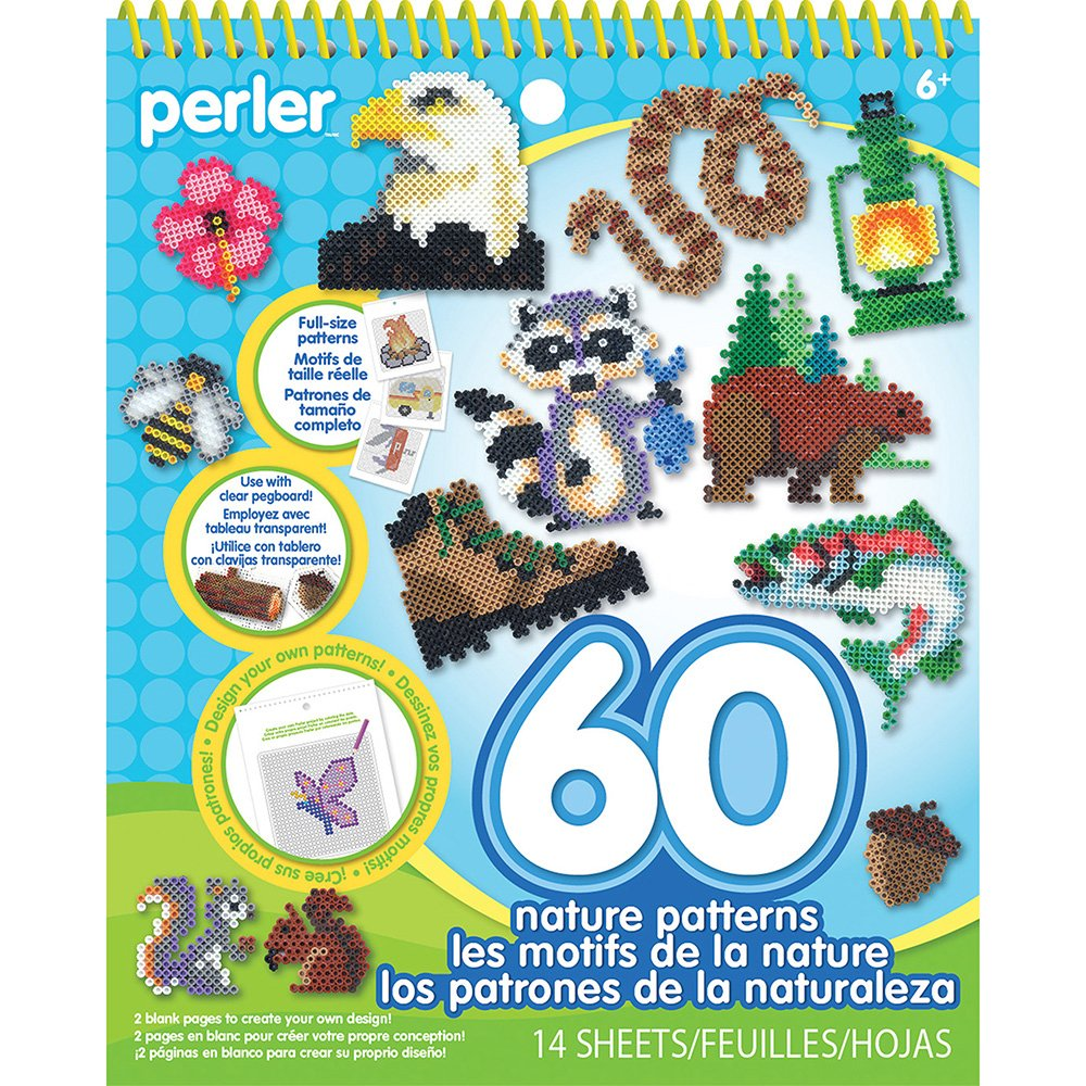 Perler Beads Patterns and Idea Book for Kids Crafts 28 pgs