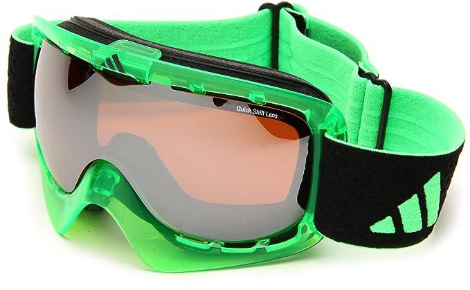 Amazon.com: adidas id2 Pro Escudo anteojos de sol, Verde ...