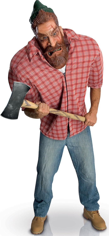 Disfraz de leñador jorobado hombre - Única: Amazon.es: Juguetes y ...
