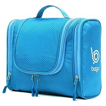 8e30b5ce04c Amazon.com   Bago Hanging Toiletry Bag For Men   Women - Toiletries ...