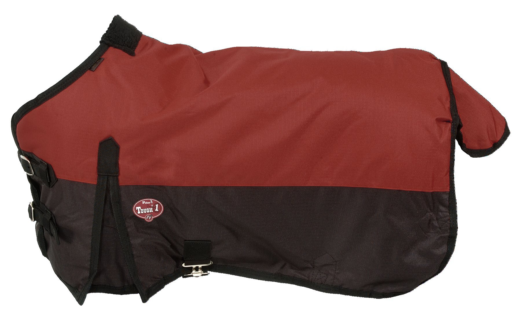 Tough 1 600D Waterproof Poly Miniature Turnout Blanket, Burgundy, 40''