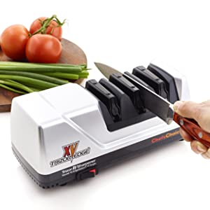 Chef'sChoice 15 XV Trizor Electric Knife Sharpener Review
