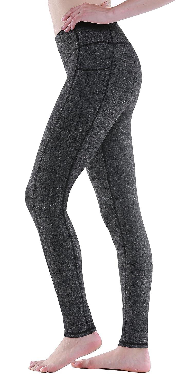 13fecf1fd00b3 Amazon.com: Sudawave Women's Workout Leggings with Pocket Running Tights  Capri Yoga Pants: Clothing