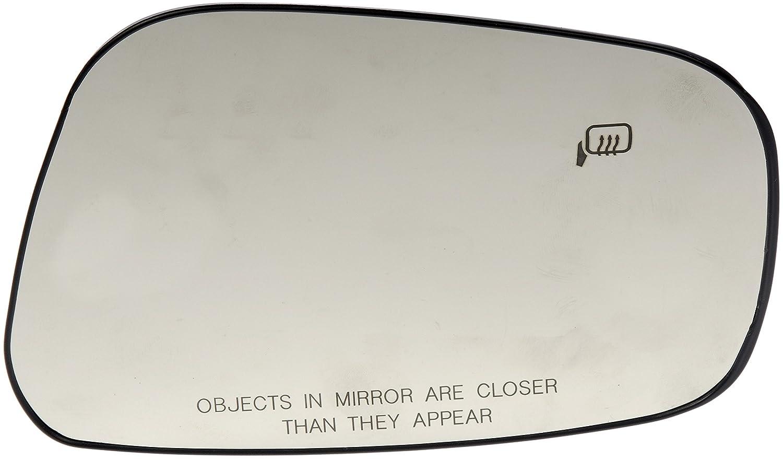 Dorman 56507 Passenger Side Heated Plastic Backed Mirror Glass Dorman - HELP