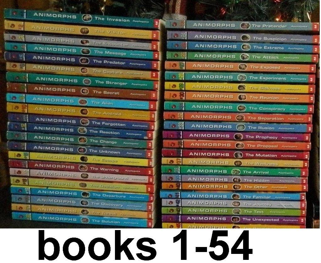 Download Animorphs Complete Series Books 1-54 pdf