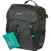 Basil Unisex - volwassenen enkelverpakking tas 2179234770 enkele tas, zwart melee, 9 l
