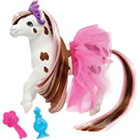 """Breyer Color Changing Bath Toy, Blossum The Ballerina Horse, Brown/ White with Surprise Pink Markings, 7"""" X 7.5"""""""