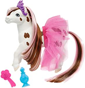 """Breyer Horses Color Changing Bath Toy   Blossum The Ballerina Horse   Brown/ White with Surprise Pink Color   7"""" X 7.5""""   Horse Toy   Ages 2+    Model #7231"""