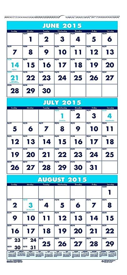 Calendario Anno 2015.House Of Doolittle Giugno 2015 Luglio 2016 Anno Accademico