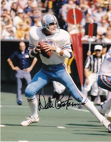 Dan Pastorini Signed Photograph - 8x10 - Autographed NFL Photos at ... bcfaa6b28