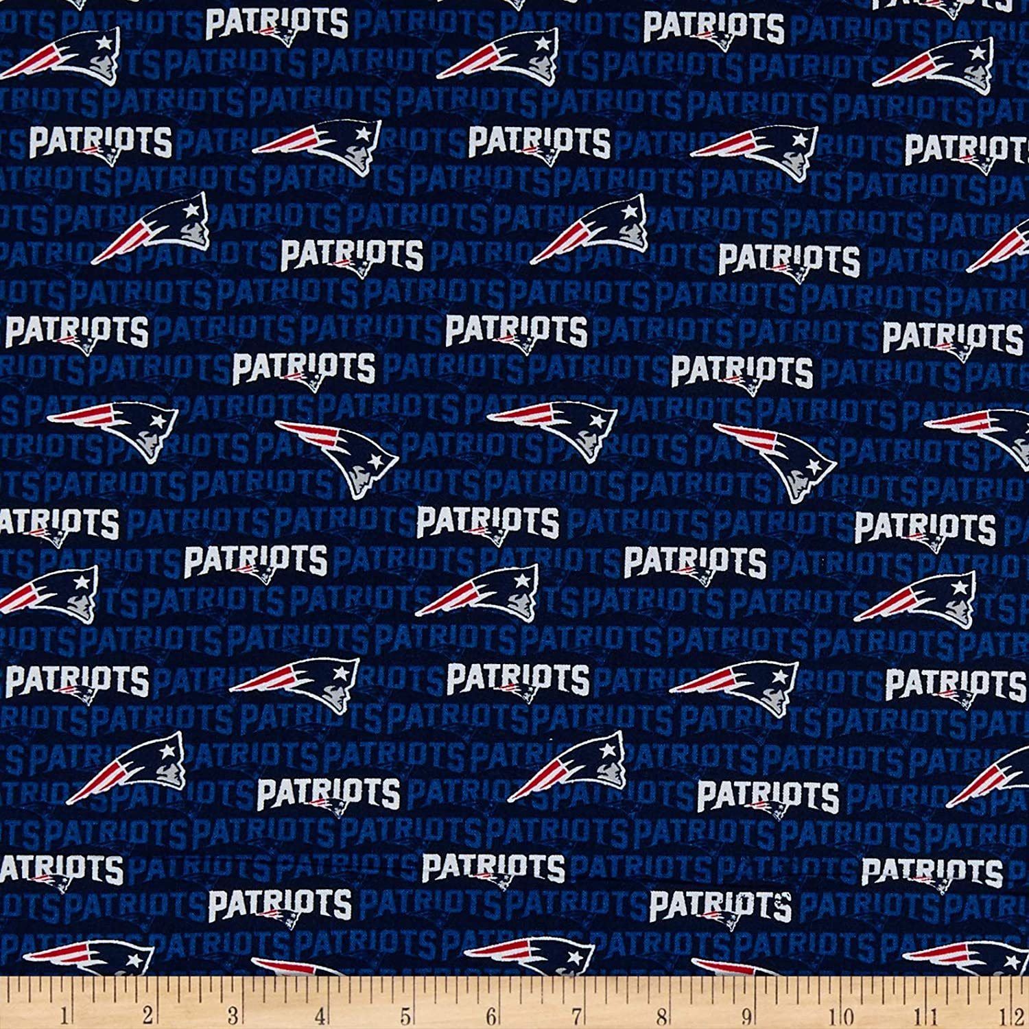 37d285fe Traditions NFL Cotton Broadcloth New England Patriots Mini Navy, Fabric by  the Yard