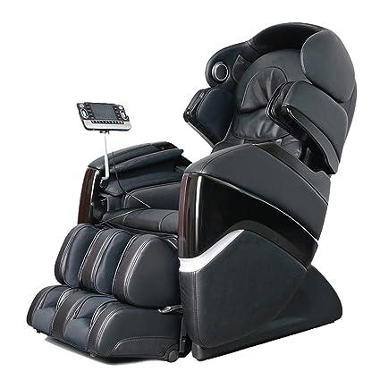 OSAKI OS 3D PRO CYBER Zero Gravity Heated Massage Chair, Black