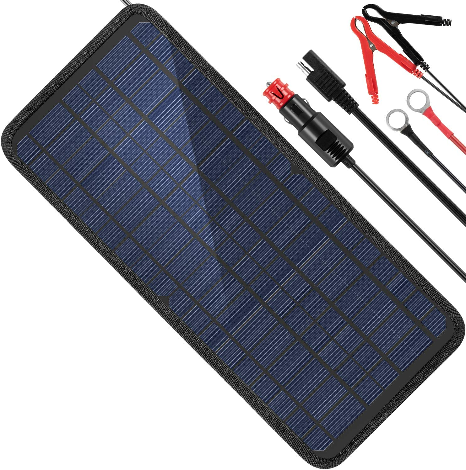 MOOLSUN 12-Volt Solar Battery