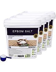 NortemBio Sal de Epsom, Fuente concentrada de Magnesio, Sales 100% Naturales. Baño