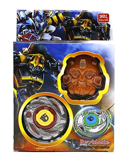 cbc1c5f8db5 Buy FusineTM 1 Transformers Beyblade with Metal Fury 4D System with  Launcher Beyblade Spinning Toy(Color May Vary) Online at Low Prices in  India - Amazon.in