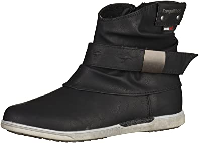 Botas Talla Kangaroos 36 Mujer Para Boot K Negro Color 5008 r848tw