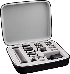 Case Compatible with Philips Norelco Multigroom Series 7000,Men's Grooming Kit with Trimmer MG7750/49. Storage Holder Fits for 18 Attachment Trimmer and Accessories (Box Only)