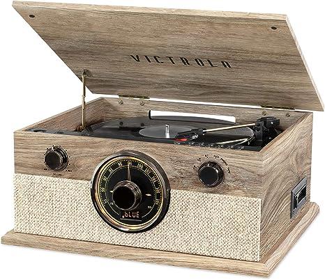 Amazon.com: Victrola - Reproductor de música 6 en 1 con ...