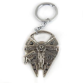 Lzy-tienda Star Wars Watanabe/anillo de Metal llavero ...