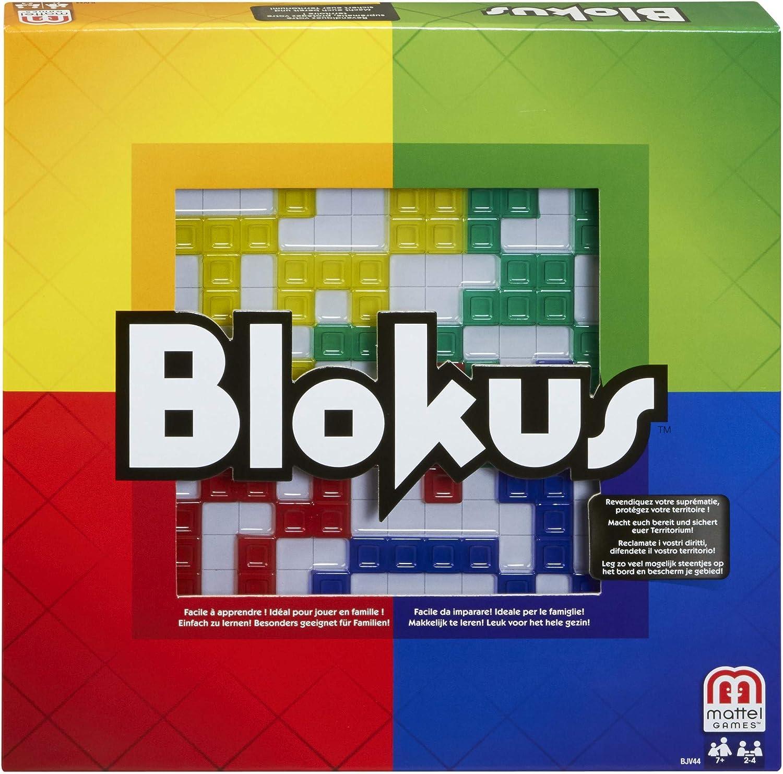 Mattel Games Blokus Refresh, juego de estrategia para niños +7 ...