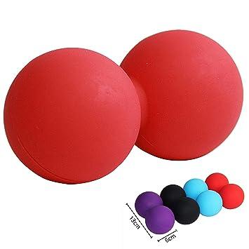 Joyooo Massage Ball Peanut Massage Ball Rubber Back Massage Ball