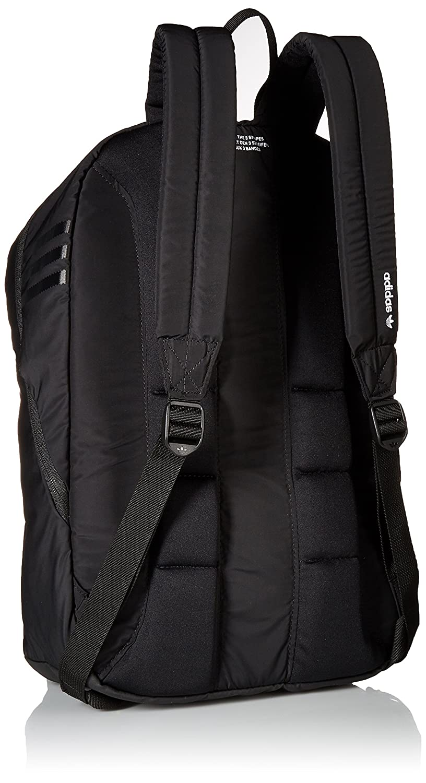 281d3509f05 Amazon.com: adidas Originals National Plus Backpack, Black, One Size:  Clothing