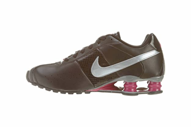 best service f7b45 22d0c ... reduced amazon womens nike shox classic ii running shoes black cool grey  sport pink 343907 010