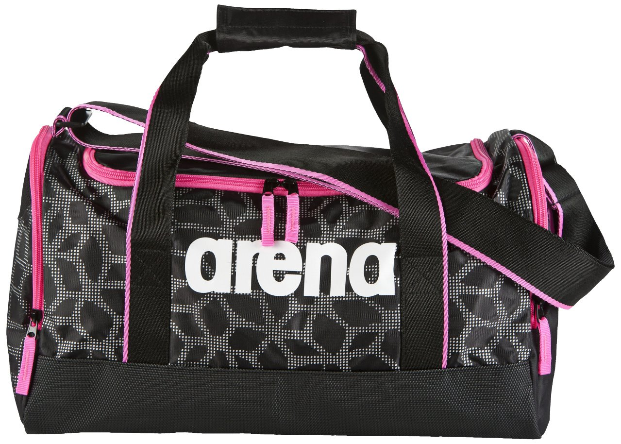Arena Spiky 2 Medium Holdall – ブラック/ Fluo Fushcia B074KGS1LH