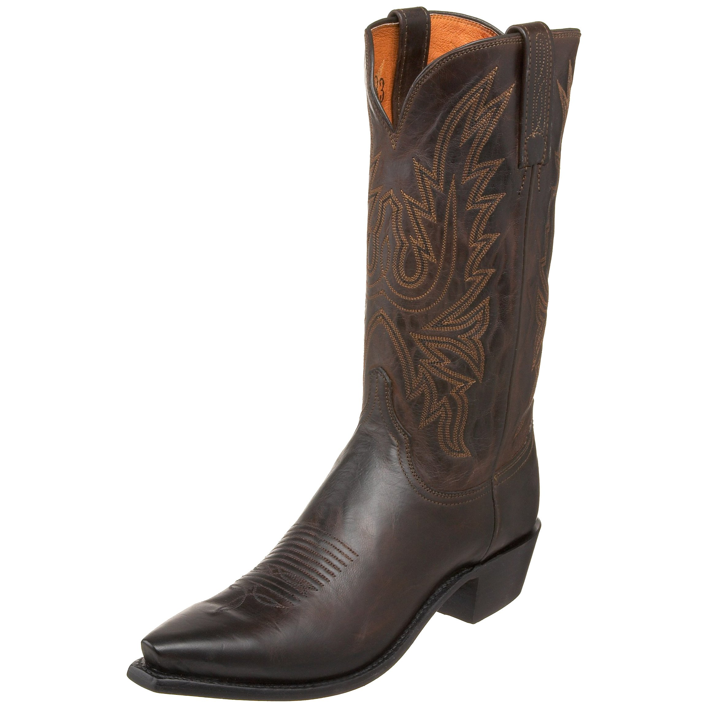 1883 by Lucchese Men's N1556.54 Western Boot,Chocolate,7 D US