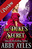 The Duke's Secret: A Clean & Sweet Regency Historical Romance Novel