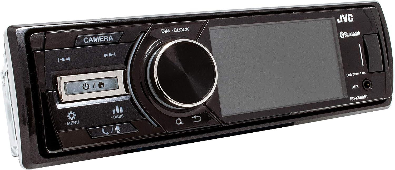 KD-X560BT JVC Digital Media Marine Bluetooth Receiver iPhone//Android//USB//AUX