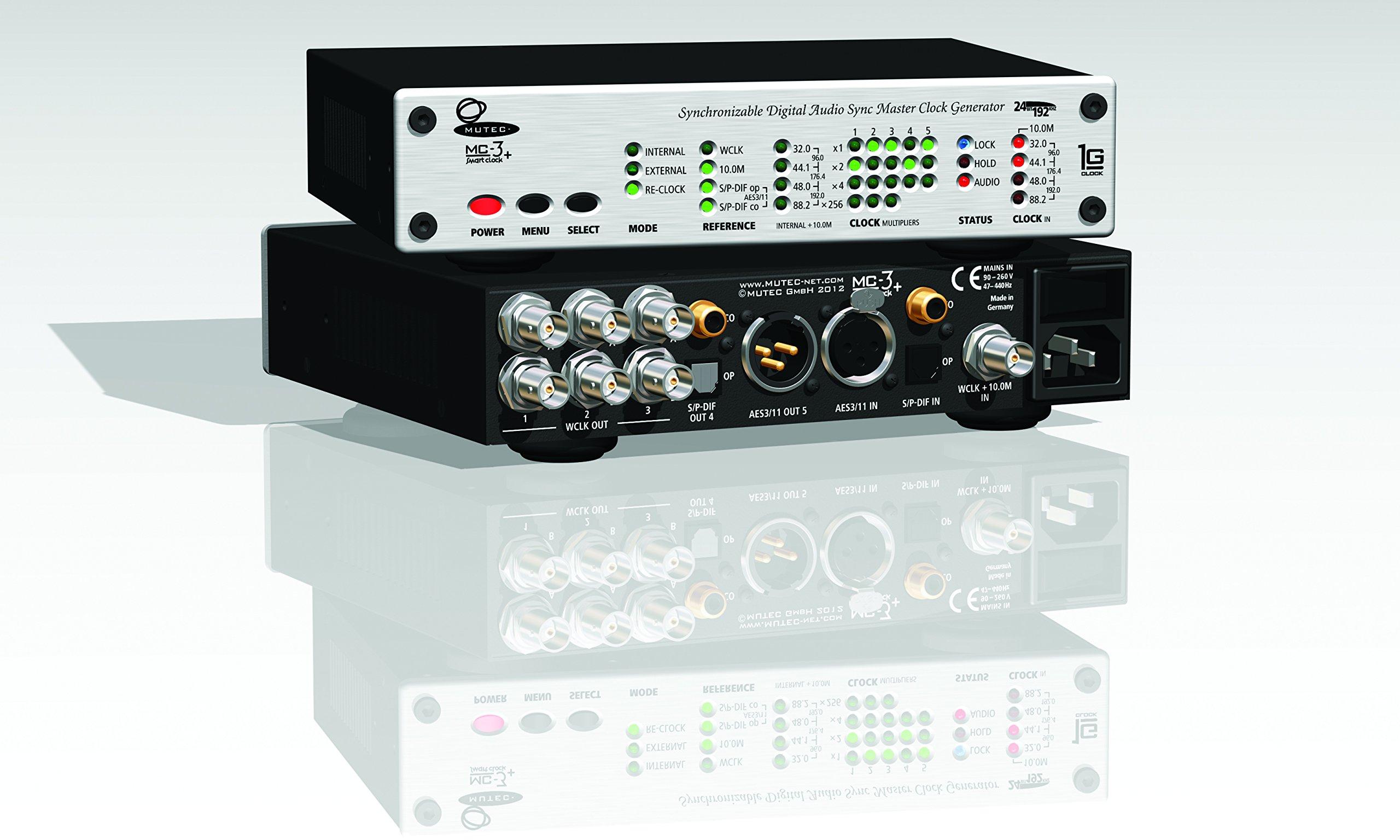 Mutec MC-3+ Smart Clock Audio Clock Generators