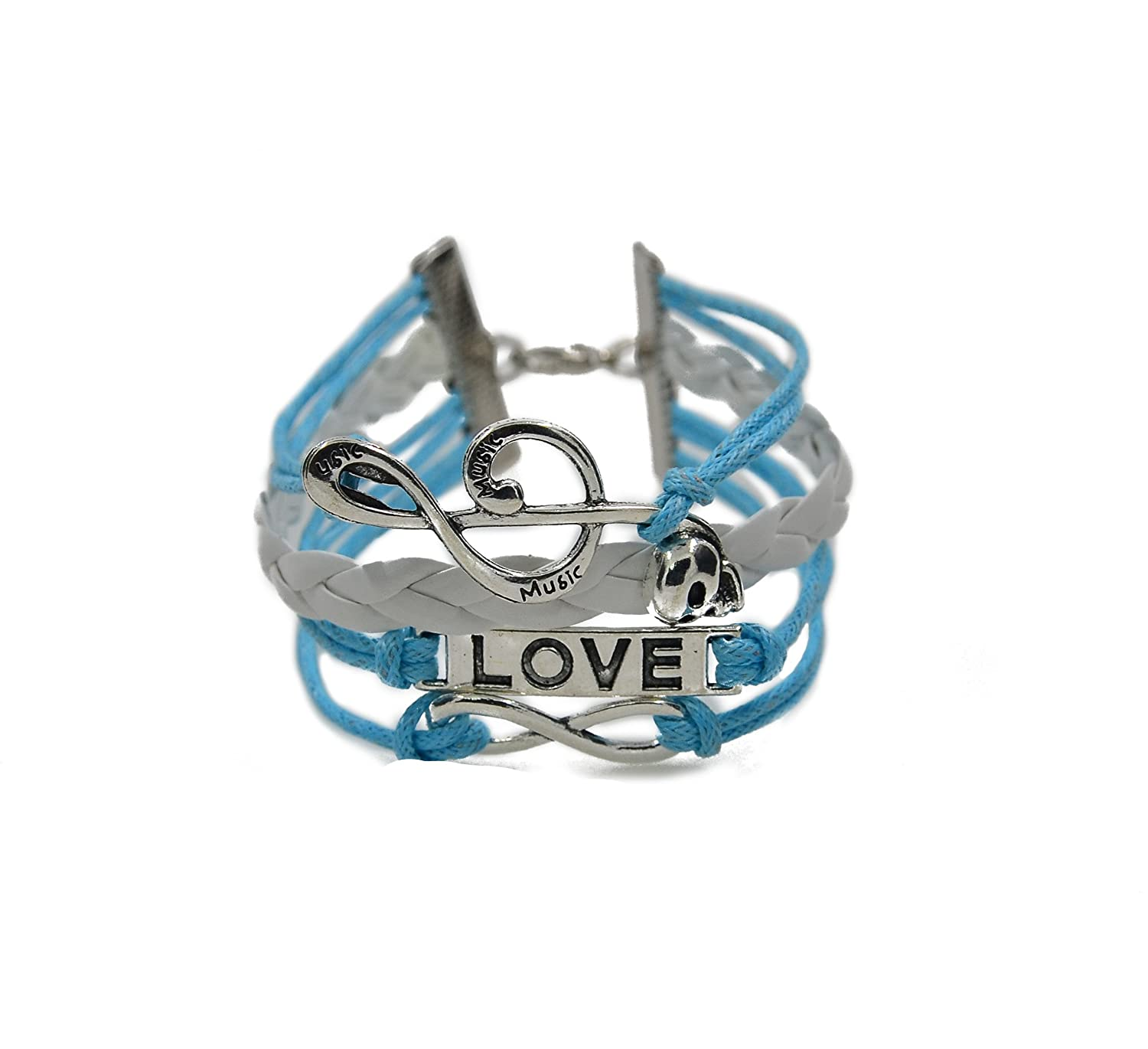 Caetle Lover Music Note Bracel...