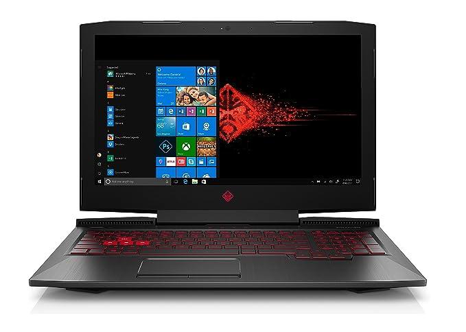 "HP OMEN 15-ce098nf 2.8GHz i7-7700HQ 15.6"" 1920 x 1080Pixel Nero Computer portatile"