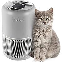 LEVOIT H13 True HEPA filtre, alerji ve evcil hayvan tüyleri için, yatak odası için, kokuları %99,97 uzaklaştırır, duman…