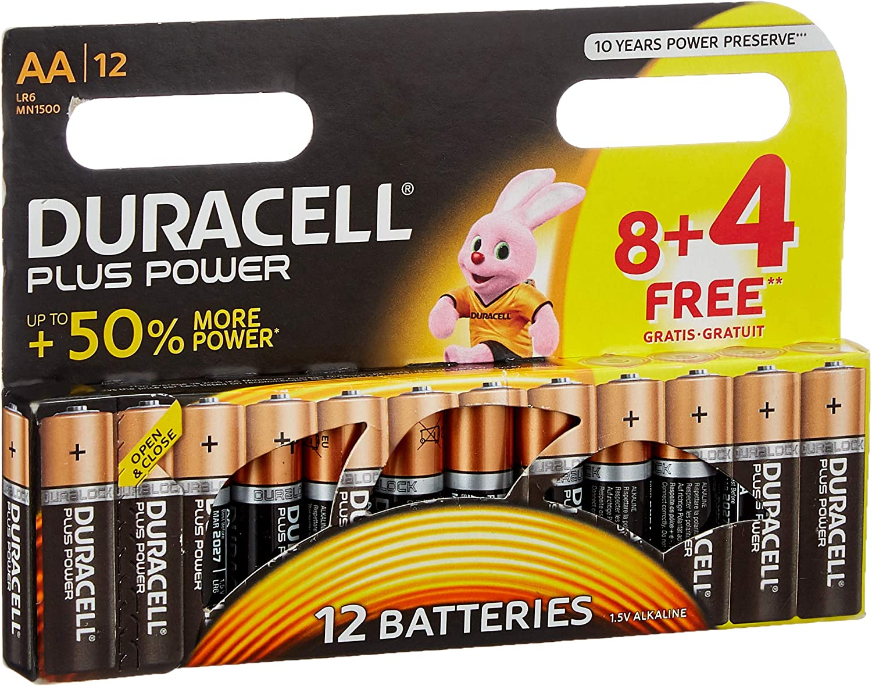 Duracell Dur018167 Plus Power Aa Batterien Elektronik