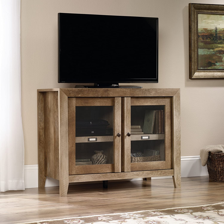 Amazon.com: Sauder 418268 TV Stands, Furniture Dakota Pass ...