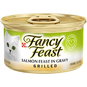 Purina Fancy Feast Grilled Feast in Gravy Canned Wet Cat Food