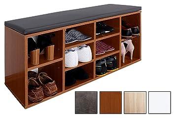 Ricoo Banc Armoire Meuble De Rangement Pour Chaussure Wm033 Er A