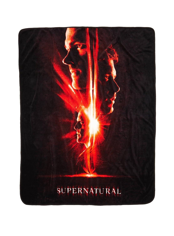 Supernatural Poster Throw Blanket